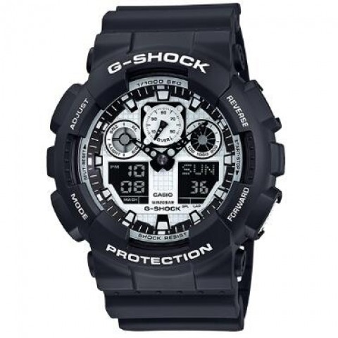 Casio G-Shock GA100BW-1A