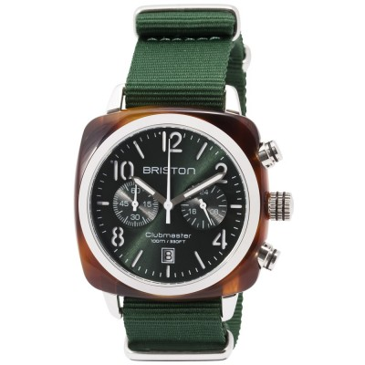 Briston 15140.SA.T.10.NBG Green Wristwatch