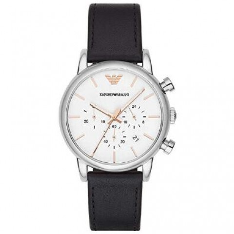Emporio Armani AR2075 Men's Chronograph Leather Watch