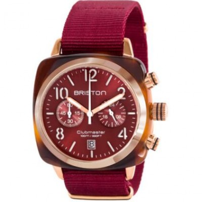 Briston 15140.PRA.T.8.NBDX Red Wristwatch