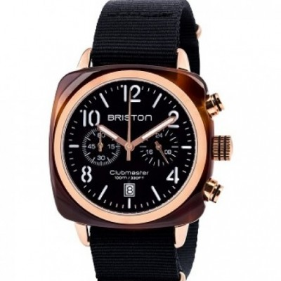 Briston 14140.PRA.T.1.NB Black Wristwatch