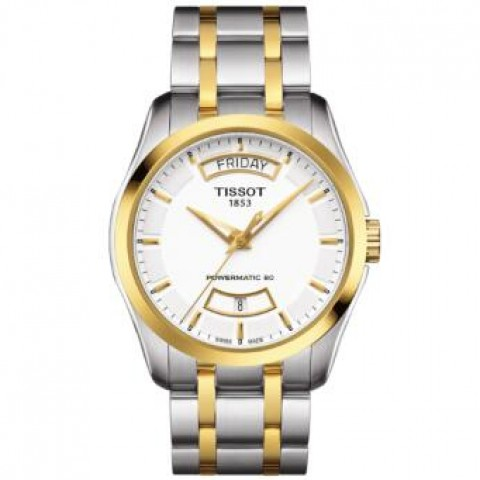 Tissot Couturier T0354072201101 POWERMATIC 80 Chronograph Automatic Mens Watch