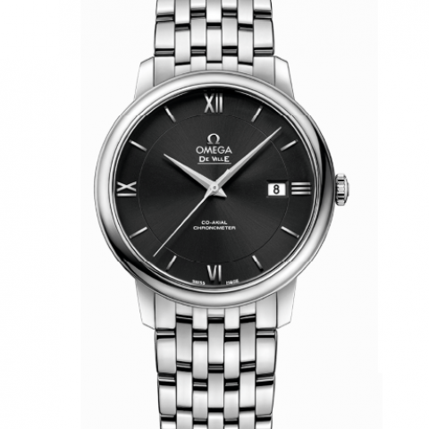 Omega De Ville PRESTIGE CO‑AXIAL 39.5 MM Steel on steel  424.10.40.20.01.001