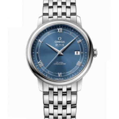 Omega  De Ville  PRESTIGE CO‑AXIAL 39.5 MM Steel on steel  424.10.40.20.03.002