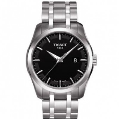 Tissot Couturier T0354101105100 Black Dial Men's Watch