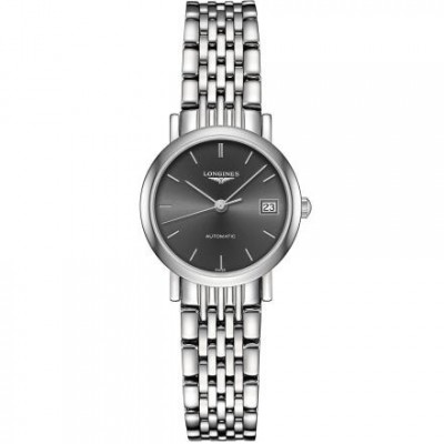 Longines Elegant Collection L4.309.4.72.6  Silver Dial Ladies Watch
