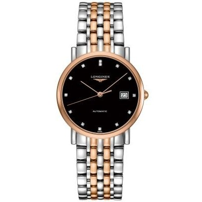 Longines Elegant Collection L4.809.5.57.7  Automatic Two-Tone Unisex Watch