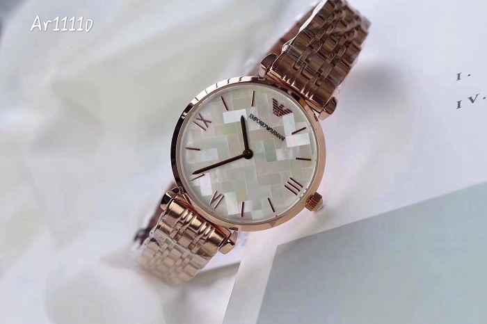 Emporio Armani  AR11110 Woman two-hands stainless steel watch