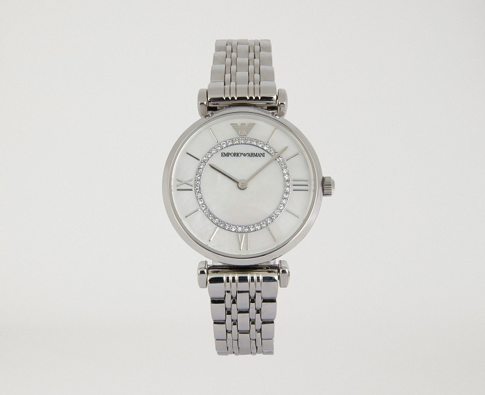 EMPORIO ARMANI AR1908 Woman two-hands stainless steel watch