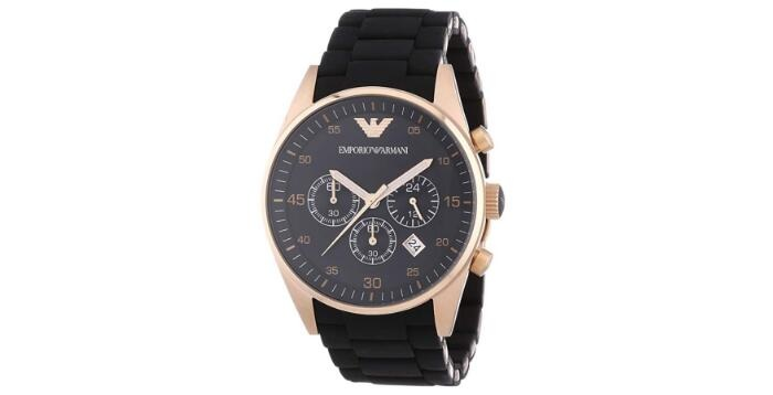 Emporio Armani Men's AR5905 Black Stainless Steel Watch