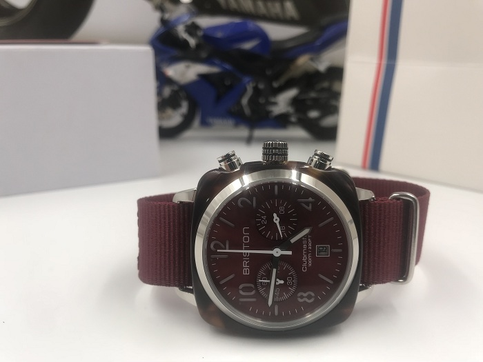 Briston 15140.SA.T.8.NBDX Red Wristwatch
