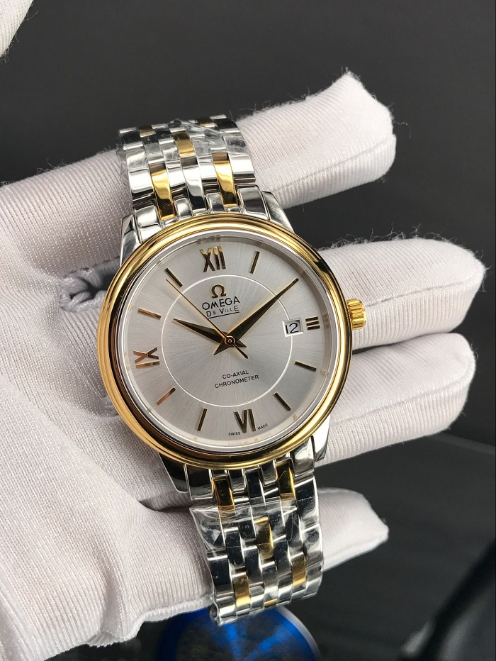 Omega De Ville PRESTIGE CO‑AXIAL 36.8 MM  yellow gold  424.20.37.20.02.001
